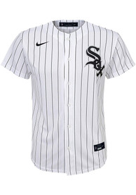Nike Chicago White Sox Youth White 2020 Home Baseball Jersey