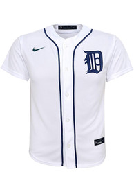 Detroit Tigers Youth Nike 2020 Home Baseball Jersey - White