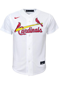 Nike St Louis Cardinals Youth White 2020 Home Baseball Jersey