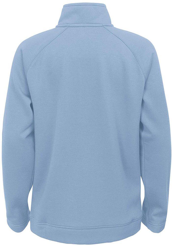 Sporting Kansas City Youth Light Blue Stealth Mode Long Sleeve Quarter Zip Shirt - Image 2