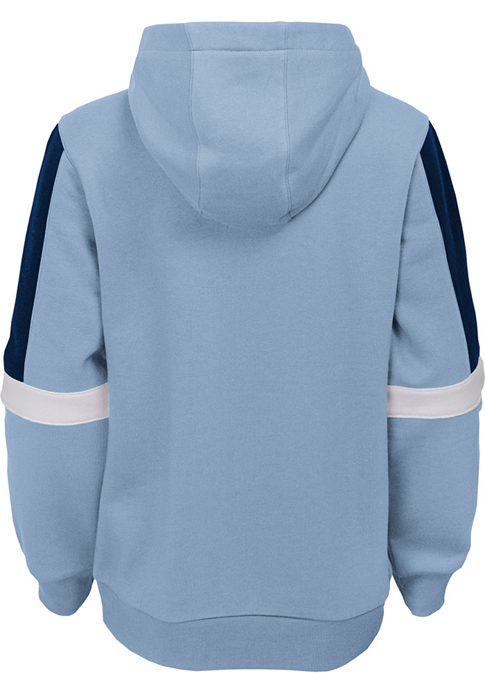 Sporting Kansas City Youth Light Blue Goalkeeper Long Sleeve Hoodie - Image 2
