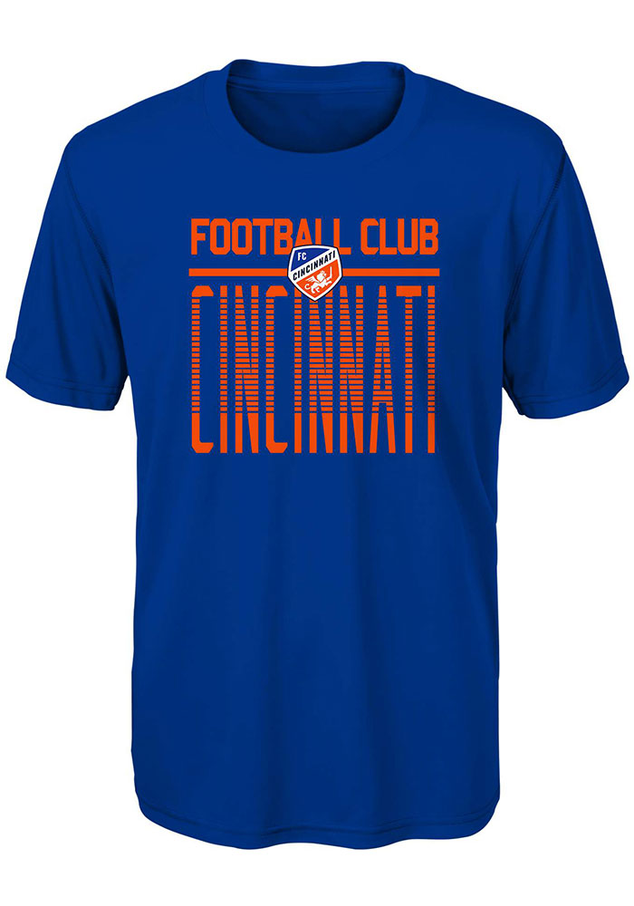 FC Cincinnati Youth Stand Tall T-Shirt - Blue