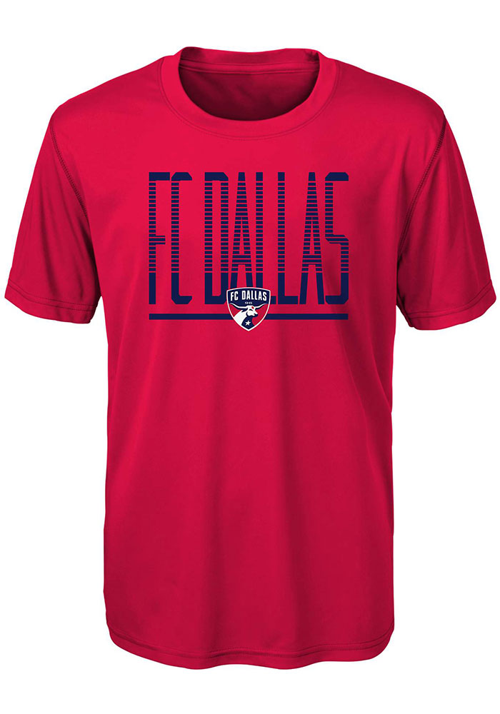 FC Dallas Youth Stand Tall T-Shirt - Red