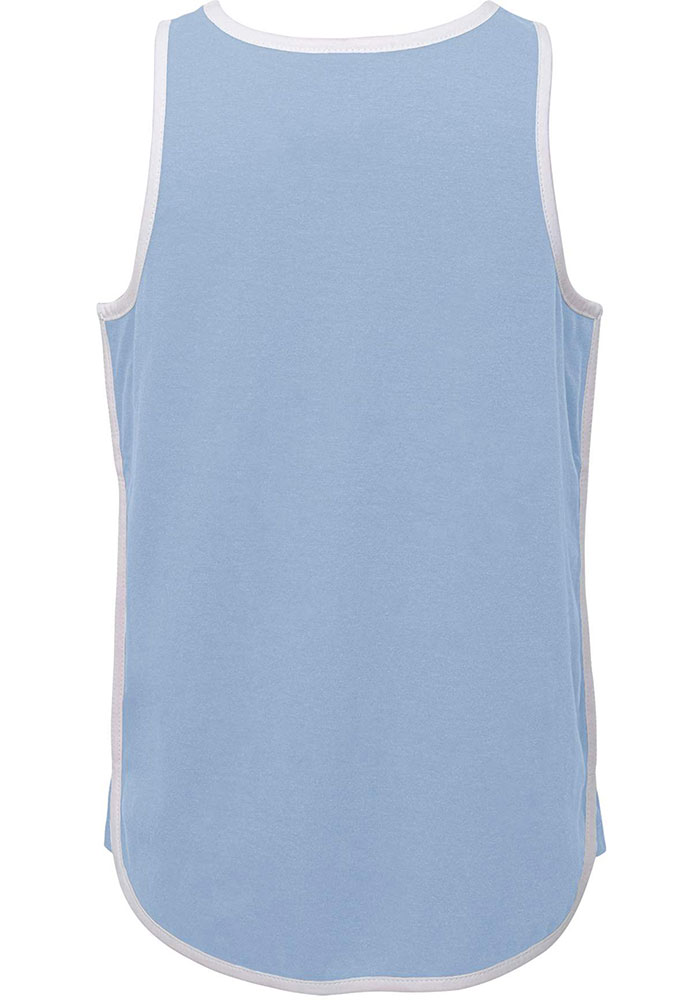 Sporting Kansas City Girls Light Blue Game is in the Heart Short Sleeve Tank Top - Image 2