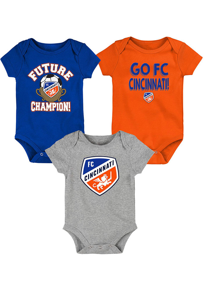 FC Cincinnati Baby Blue Born to Win One Piece - Image 1