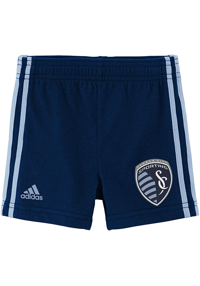 Sporting Kansas City Infant Light Blue Little Leisure Set Top and Bottom - Image 3
