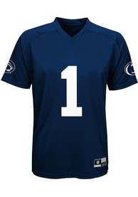 Penn State Nittany Lions Toddler #1 Jersey Football Jersey - Navy Blue