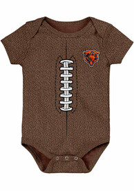 Chicago Bears Baby Football One Piece - Brown