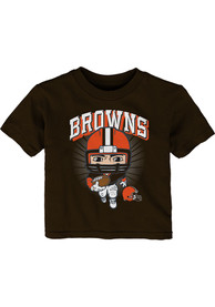 Cleveland Browns Infant Gummy Player T-Shirt - Brown
