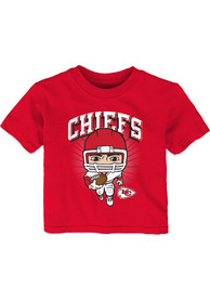 Kansas City Chiefs Infant Gummy Player T-Shirt - Red