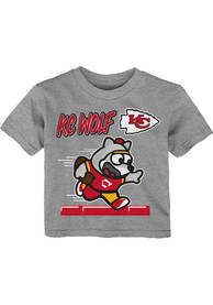 Kansas City Chiefs Infant Game Player T-Shirt - Grey