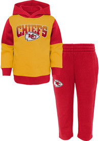KC Chiefs Tod Red Sideline Top and Bottom Set