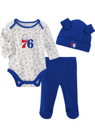 Philadelphia 76ers Infant Greatest Lil Player Top and Bottom - Blue