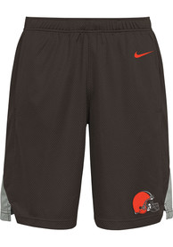 Cleveland Browns Youth Nike Logo Shorts - Brown