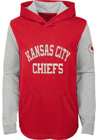 Kansas City Chiefs Youth The Legend Hooded Sweatshirt - Red