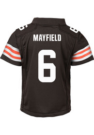 Baker Mayfield Cleveland Browns Toddler Nike 2020 Home Football Jersey - Brown