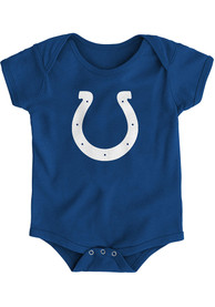 Indianapolis Colts Baby Primary logo One Piece - Blue