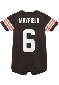 Baker Mayfield Cleveland Browns Baby Nike Romper Football Jersey - Brown