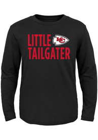 Kansas City Chiefs Boys Little Tailgater T-Shirt - Black