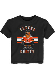 Gritty Philadelphia Flyers Toddler Outer Stuff Gritty Life T-Shirt - Black
