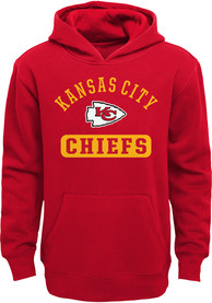 Kansas City Chiefs Youth Banner Hooded Sweatshirt - Red