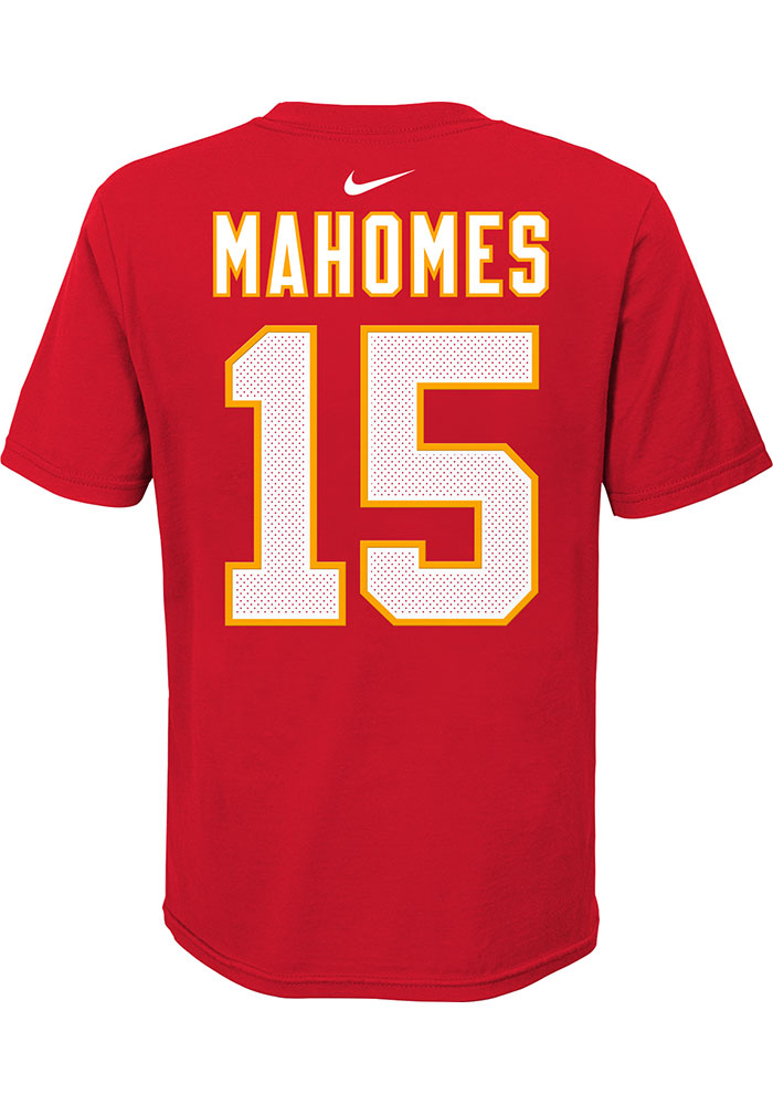 Nike Kansas City Chiefs Youth Red Player Pride Player Tee - Image 1