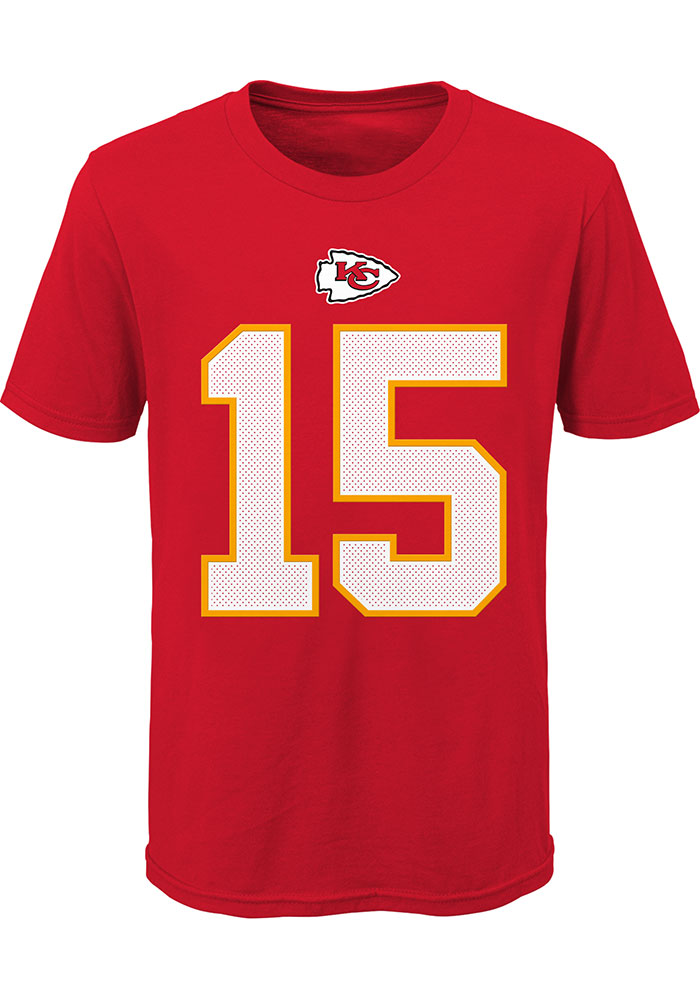 Nike Kansas City Chiefs Youth Red Player Pride Player Tee - Image 2
