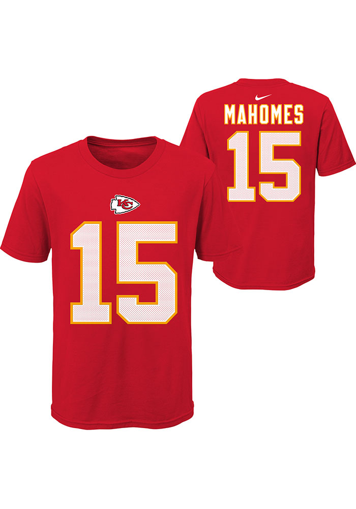 Nike Kansas City Chiefs Youth Red Player Pride Player Tee - Image 3