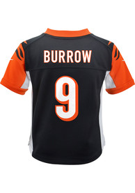 Joe Burrow Cincinnati Bengals Toddler Nike Gameday Football Jersey - Black