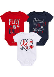 St Louis Cardinals Baby Runtastic One Piece - Red