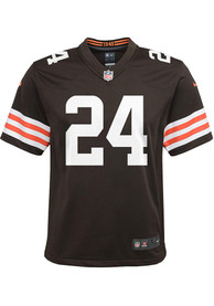 Nick Chubb Cleveland Browns Youth Nike Home Football Jersey - Brown