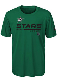 Dallas Stars Youth Authentic Pro T-Shirt - Kelly Green