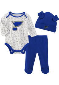 St Louis Blues Infant Greatest Lil Player Top and Bottom - Blue