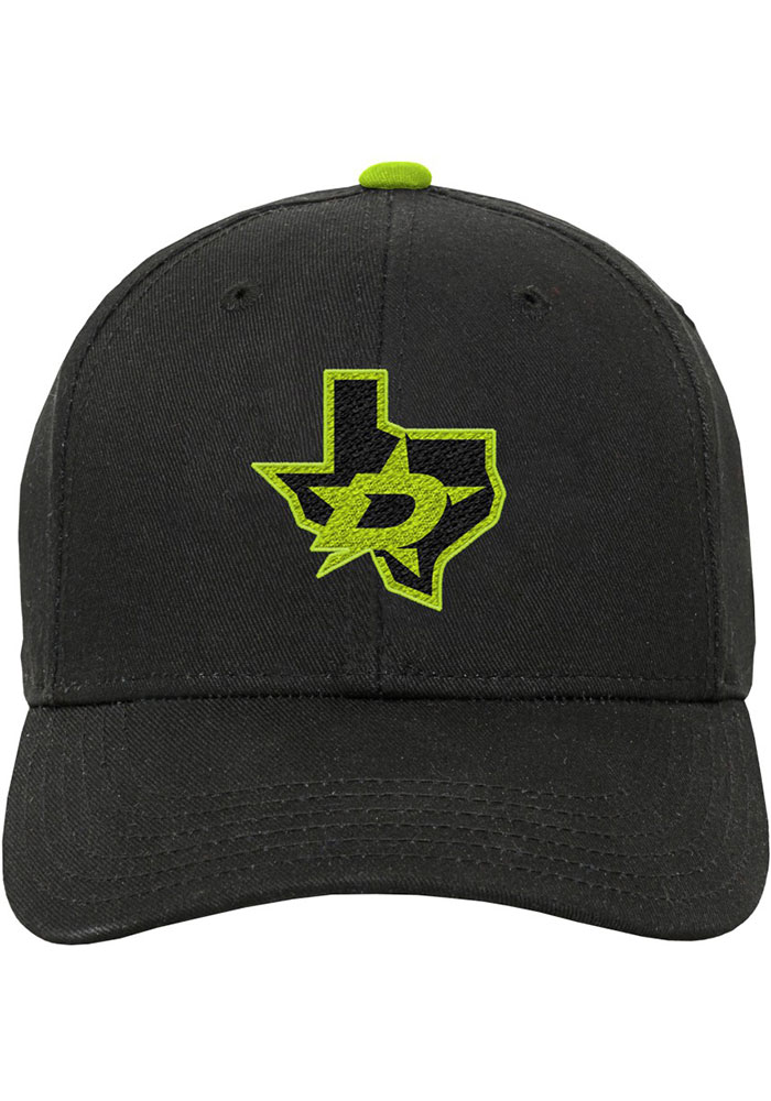 Dallas Stars Green Third Jersey Youth Adjustable Hat - Image 3