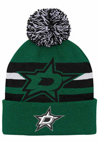 Dallas Stars Youth Heritage Cuff Knit Hat - Green