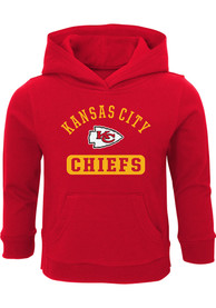 Kansas City Chiefs Toddler Banner Hooded Sweatshirt - Red