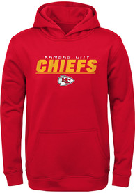 Kansas City Chiefs Youth Static Hooded Sweatshirt - Red