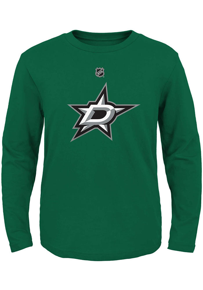 Dallas Stars Toddler Kelly Green Primary Logo Long Sleeve T-Shirt - Image 1