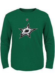 Dallas Stars Toddler Primary Logo T-Shirt - Kelly Green