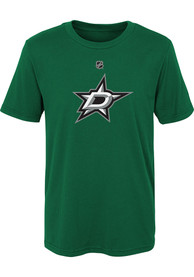 Dallas Stars Youth Primary Logo T-Shirt - Kelly Green