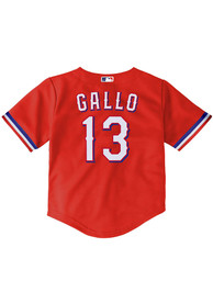 Joey Gallo Texas Rangers Baby Nike Alternate 2 Baseball Jersey - Red