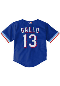 Joey Gallo Texas Rangers Toddler Nike Alternate 1 Baseball Jersey - Blue