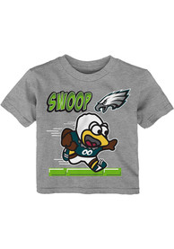 Philadelphia Eagles Infant Game Player T-Shirt - Grey