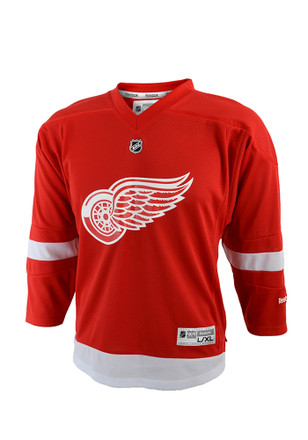 Detroit Red Wings Baby Red Toddler Replica Hockey Jersey