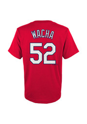 Michael Wacha St Louis Cardinals Youth Player T-Shirt - Red
