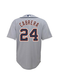 Miguel Cabrera Detroit Tigers Baby Outer Stuff 2019 Road Baseball Jersey - Grey