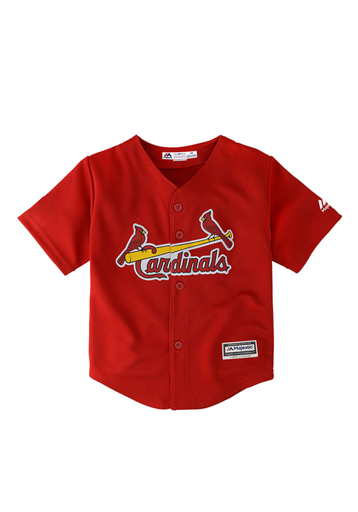 St Louis Cardinals Toddler Replica Jersey - Red - Image 1