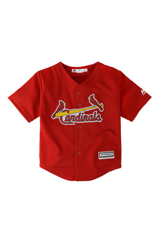 St Louis Cardinals Baby Red Infant Cool Base Replica Baseball Jersey