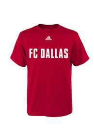 FC Dallas Youth Red Youth Primary One T-Shirt