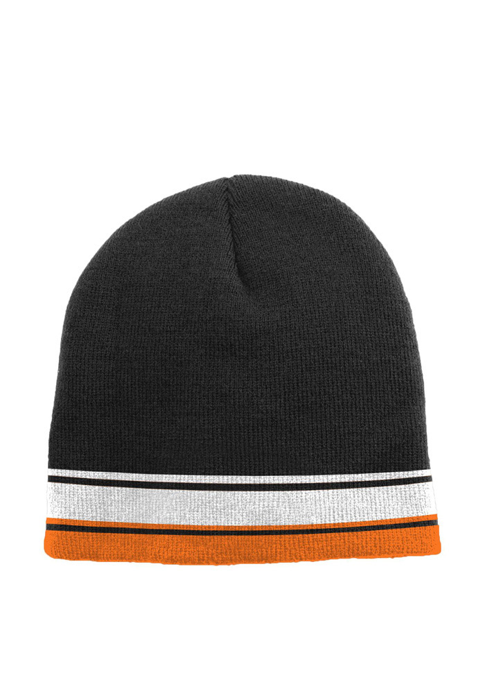 Cincinnati Bengals Black Cuffless Youth Knit Hat - Image 2